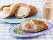 紅茶のバナナオムレットロール