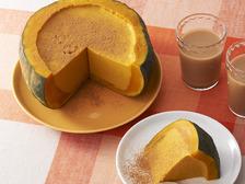 まるごとかぼちゃの紅茶プリン