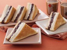 コーヒー風味小倉トースト