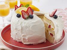 炊飯器でらくらくホワイトフルーツケーキ