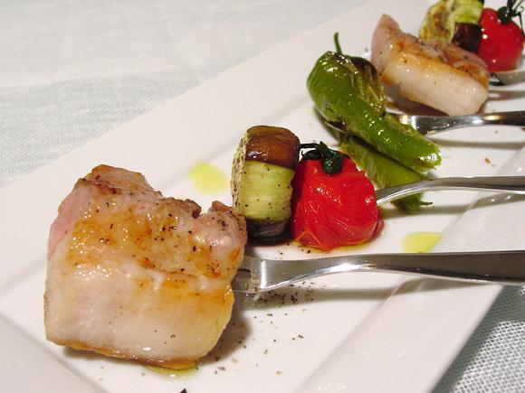 豚バラ肉と夏野菜のグリル~スペイン風~