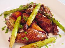 鶏のバルサミコ酢風味