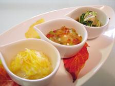 前菜小鉢3種盛り