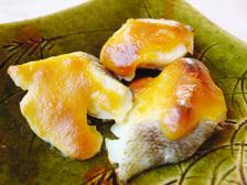 白身魚の黄身味噌焼き
