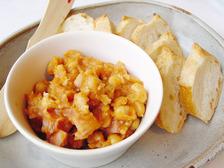 大豆とベーコンのディップ