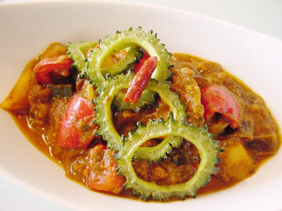インド風夏野菜カレー