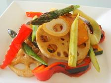 野菜のしょうゆ焼きサラダ