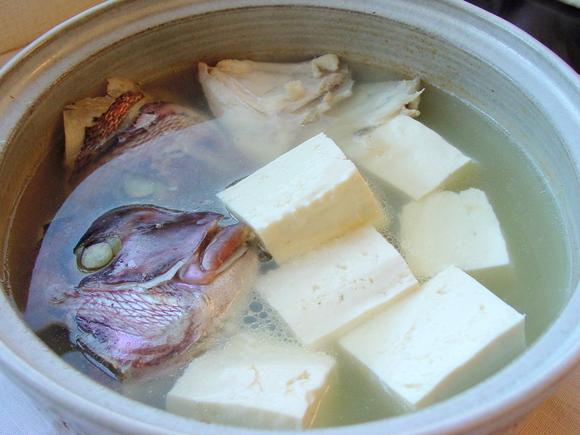 湯豆腐~鯛の潮汁風~