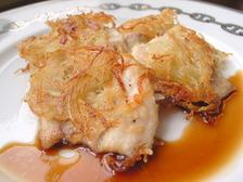 白身魚のポテト焼き