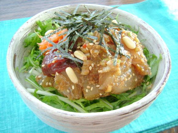 韓国風お刺身丼