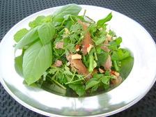 さんまのベトナム風ハーブサラダ