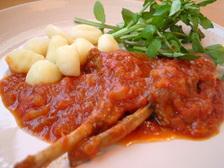 仔羊のトマト煮