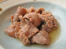 牛すじ肉の山椒煮