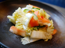 白菜の簡単浅漬け中華風