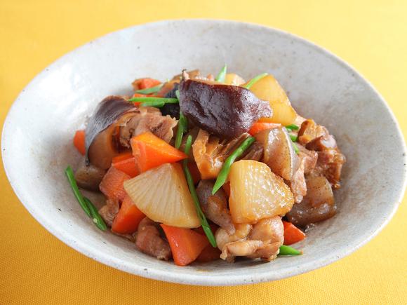 鶏肉と大根のこってり煮