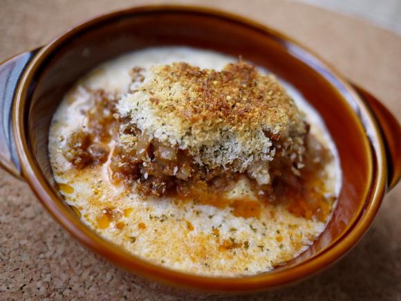 豆腐のスープグラタン