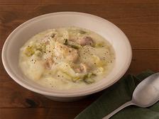 チキンと白菜の豆乳クリーム煮