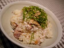 鰤めし(炊飯器で作るぶりご飯)