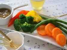 バーニャカウダ&カラフル野菜の盛りあわせ