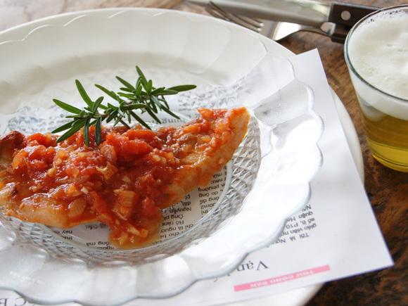 豚肉のソテー ローズマリートマトソース