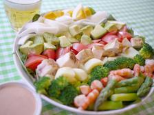 春野菜のコブサラダ