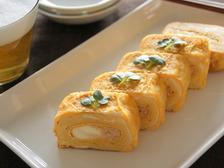 明太チーズだし巻き卵