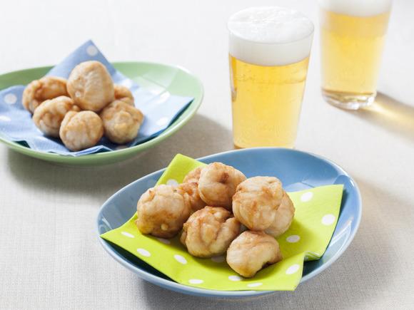 柚子こしょう味チーズ入り鶏のミニ唐揚げ