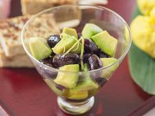 黒豆とアボカドのゆずマリネ