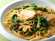 ふき味噌と春野菜のパスタ