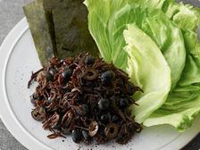 ひじきと黒豆のブラックサラダ