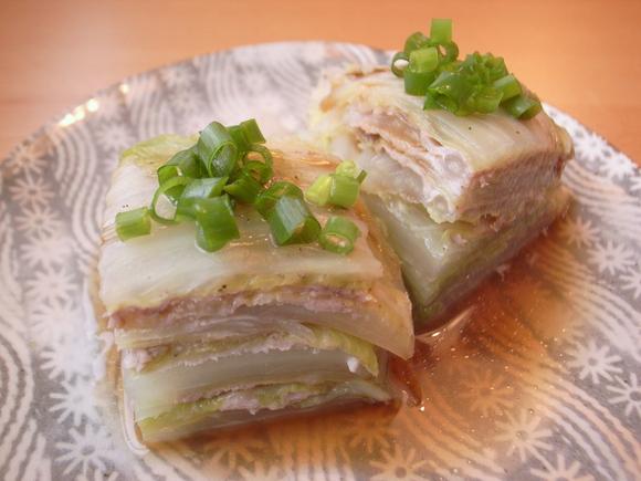 白菜と豚肉のレンジ蒸し|キリンレシピノート , とっておきの