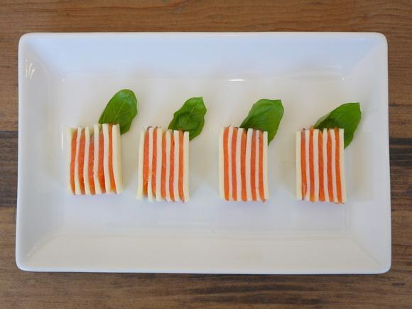 スモークサーモンとチーズのミルフィーユ|キリンレシピノート